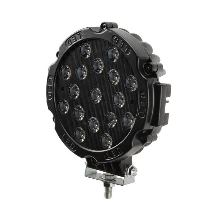 LED reflektor 51W Kulatý